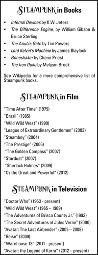 STEAMPUNK: Nostalgia for a Time That Never Was - Enlighten